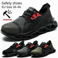 Work Boots Men's Safety Shoes Labor Shoes Steel Toe Cap Indestructible Sneakers