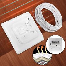 230V Digital Electric Heating Manual Thermostat Underfloor Device Floor Sensor