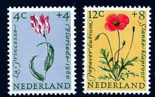 NETHERLANDS - FLOWERS ( TULIP & POPPY) MNH