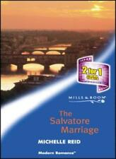 The Salvatore Marriage (Mills & Boon Modern),Michelle Reid