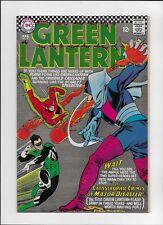 GREEN LANTERN #43 - HIGHER GRADE SILVER AGE  UNRESTORED - 1966 The FLASH!