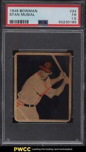1949 Bowman Stan Musial #24 PSA 1.5 FR