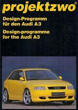 Audi A3 3-dr Projektzwo Bodystyling & Tuning Accessories 1998 German Brochure
