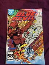blue devil #15 signed by gary cohn rare dc comics comic book cool vintage sweet!