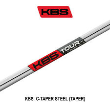 KBS C-TAPER STEEL SHAFTS - S+ FLEX
