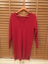 COMPTOIR DES COTONIERS Women 100% CASHMERE Sweater Dress S
