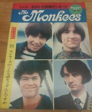 The Monkees Special Japan 1967 40pp Some Colour Shinko Music Publishing