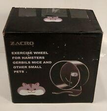 Zacro Hamster Exercise Wheel - 8.7� Silent Running Wheel for Hamsters Open Box