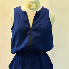 Banana Republic | Royal Blue Sleeveless Parachute Dress – Size 0