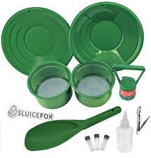 Sluice Fox 11 Piece Gold Panning Supplies Kit | Classifier Sifting Pan Set