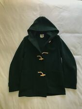 Fidelity for Barneys COOP Green Wool Toggle coat: Original Price $395