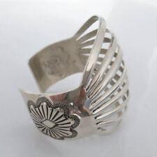 Handmade Cuff Sterling Silver Fine Bracelets