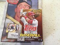 2020 Topps Baseball Series 2 Factory Sealed 67 Card Hanger Box Robert Variation