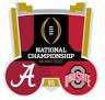 2021 National Championship Game Alabama Ohio State Dueling Lapel Pin Miami