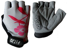 PF LADIES GIRLS PINK CYCLING / BIKE / BICYCLE / CYCLE SPORTS EXERCISE GYM GLOVES