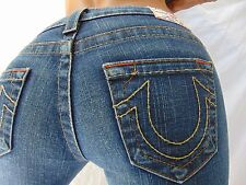 Authentic Gorgeous True Religion Johnny Boot Cut Jeans Womens sz 26