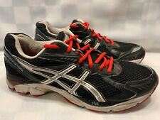 ASICS GT 2160 Running Men's Shoes Size 11 Black Red T104N