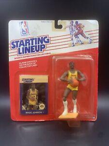 1988 Starting Lineup (SLU) - Magic Johnson - Lakers HOF - NIB / Sealed