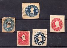 Estados Unidos Valores de Enteros Postales (CZ-917)