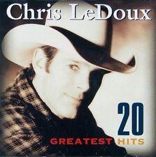 20 Greatest Hits by Chris LeDoux (CD, Jun-1999, Capitol)