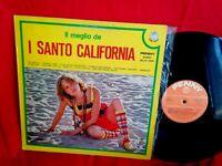 I SANTO CALIFORNIA Il meglio de LP ITALY 1977 MINT- Sexy cover