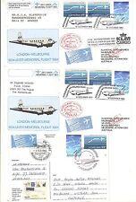 9) London Melbourne Air race 1934  3 jubilee items  1984