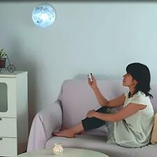 Brand New LED Healing Moon Night Light Wall Lamp Bedroom with Remote Controller