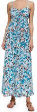 $475 REBECCA TAYLOR 100% Silk 'ALOHA CAMI' MAXI Dress-6