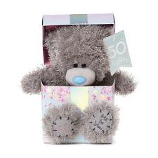 Me to You 50th Birthday Plush Bear Tatty Teddy Gift Present AP701030
