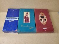 Lot of 3 Vintage Barbie Doll in Original Boxes