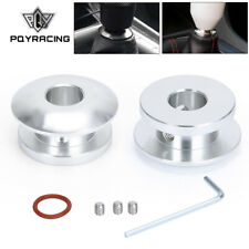 Shift Knob Buckle Boot Shifter Lever Retainer Gear Head Limiter 12mm Base Silver Fits Jetta