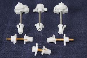 vw T25 HEADLIGHT ADJUSTING SCREW adjuster clip set f. square light -for one side
