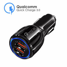 3.1A Dual USB Car Charger 2 Port Quick Charge 3.0 QC Fast Power Charging Adapter