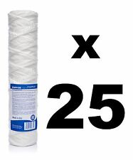 "25 x 100 micron sediment filter string-wound 10"",water filter,Reverse osmosis"