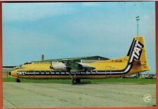 CARTE POSTALE - AVIATION  - FOKKER F.27 - AU SOL - F-GCLM - TAT