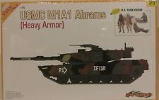 Cyber-hobby 1/35 scale kit 9125, USMC M1A1 Abrams.