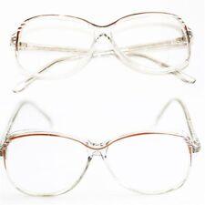 "Reading Glasses ""SOPHIA"" Bifocal Classic Oval Frame Polished BROWN +3.50 Lens"
