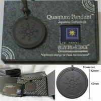 Natural Quantum Scalar Orgon Energy Neg Ions Pendant Necklace EMF Protection US-
