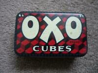 Vintage  OXO Cubes Tin for 6 cubes