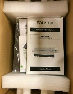 SOLA/HEVI-DUTY, Industrial UPS Din Rail Mounted Unit, 120 INPUT / 120 OUTPUT