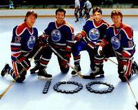 Wayne Gretzky, Jari Kurri, Glen Anderson, Paul Coffey 8x10 Photo