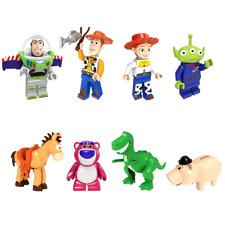 8pcs New Toy Story 4 For Lego Woody Buzz Pixar Mini Figure Building Blocks Army