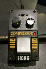 Korg Compressor CMP-1 rare vintage 80s FX pedal