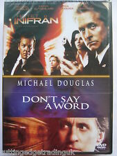 The Sentinel & Don't Say A Word DVD 2 Movies Nordic Packaging 2001 NEW PAL