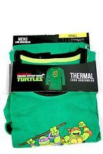 New Nickelodeon TMNT Teenage Turtles Men's SMALL Thermal Long underwear Top 007