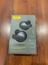 Jabra Elite 65t True Wireless Earbuds Charging Case Titanium Black New!!!