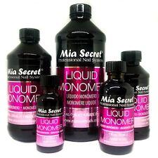 Mia Secret Professional Acrylic Nail System LIQUID MONOMER 1oz/2oz/4oz/8oz/16oz