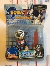 Sonic The Hedgehog Sonic X SPACE FIGHTERS Sonic Toy Island Figure RARE NIB 5""