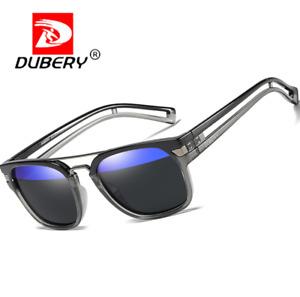 DUBERY Square Polarized Sport Sunglasses For Men Women Outdoor Driving Glasses