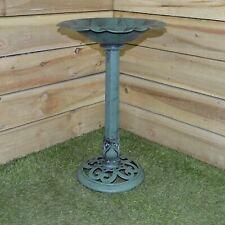Outdoor Bird Bath Traditional Pedestal Garden Ornamental  Water Weatherproof